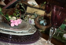 dining decor / by Ellen Dockery