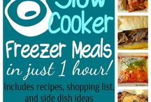 Freezer meals / by Rhonda Hill
