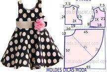 molde de vestido niña 9