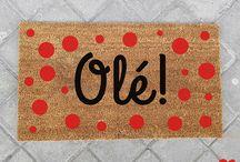 Felpudos Originales Sra.O / Felpudos divertidos y originales creados por Sra.O