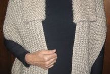 cachecol tricô