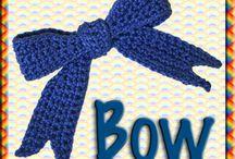Fiocchi e bottoni - Crochet