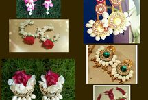 jewels using flowers
