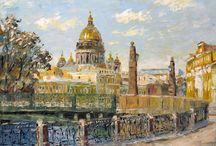 Санкт-Петербург в фотографиях и произведениях искусства / О блистательном и любимом городе