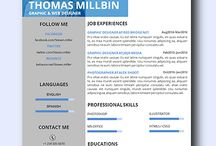 Marketing Resume /  Collection of modern resume templates as it highlights your creativity, which is a sought-after trait that employers look for and it adds a conservative amount of color and design while remaining professional and clean. Simply change the text to anything you would like. This letter can be highly customized to your personal experience and position.