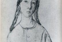Gwen John drawings