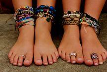 voeten armen