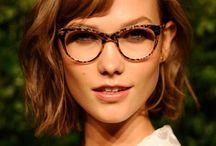 Glasses and dresses