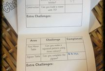 EYFS challenges