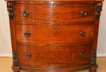Antique chest of draws / Antique chest of draws.  Wellington chest