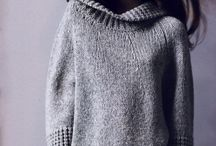 Knitting winter sweaters
