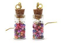 Gypsy boho chic earrings