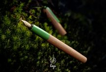 Kayu Egino / First series of handcrafted fountain pens made by Kayu.