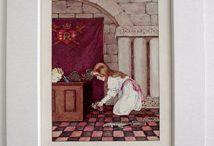 Alice in W:Millicent Sowerby / Alice in wonderland (illustrator)