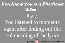You Know Your A Directioner When / by Raya Finn