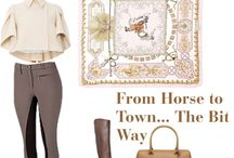 Equestrian and country styling