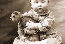 Just me and my teddy / Vintage photos of children and their teddy bears / by arlene lane vintage