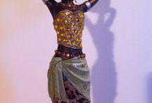 African Sculpures/Statues