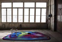 Carpets in interior