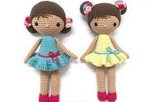 Muñecas hechas