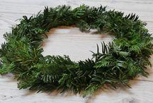 Tutorial (Advents-) Kranz binden für jedermann / haltbarer Advents-oder auch Türkranz aus frischem Tannengrün selbstgebunden