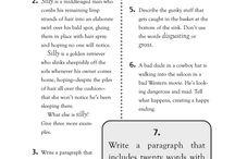 Teach me - quick writes