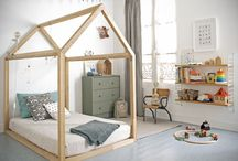 kids bed house