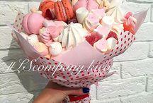 édesség csokorban