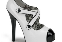 Sapatos maravilhosos e lindos