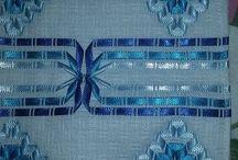bordado com fitilho