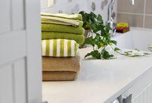 Kodinhoitohuone / Käytännölliset ja kauniit kodinhoitohuoneet