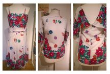Handmade Mibaboku 2015 / DIY Ideas, Handmade Designs by mibaboku  #60s #every day a dress #jeans #denim#peterpan #romantic #summer2015