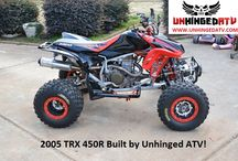 Unhinged Garage / This Garage contains many of the recent rides Unhinged ATV has built and/or owns!  Enjoy
