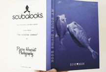 Scuba Books / A collection of our scuba logbooks