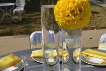 Yellow & Silver Wedding