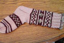 WANDA'S hand knit SOCKS