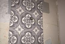 Moraga bathroom floor