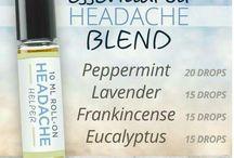 Essential oils headache bĺend