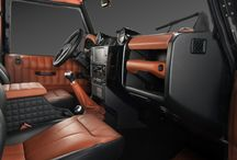 Car Interior Projects - Black & Brown Leather
