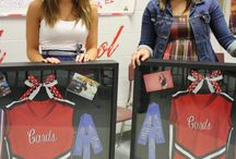 Dance and sports shadow boxes