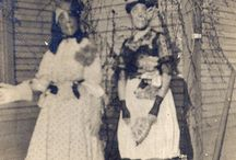 Halloween ~ Vintage Photographs ~ Altered & Newer Photographs / by Katherine Smith