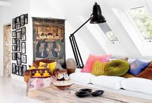 Eclectic Swedisch home