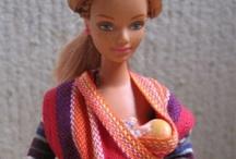 Puppen & Figuren // babywearing dolls & figurines