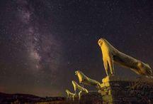 amazing ancient greek nights / «Ναοί στο σχήμα του ουρανού…» του Λουκά Χαψή