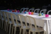 Cobi's party ideas / I love to decorate for parties, here are some ideas from my house to yours.