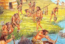 School: geschiedenis -> jagers en boeren