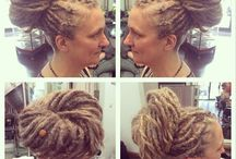 Dreadlocks / We've created this board to share beautiful images of our lovely client's natural dreadlocks styles - everything from new dreadlocks, dreadlock maintenance and styles.