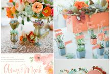 Corail&Green Wedding