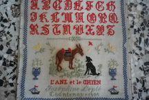 Sampler français L'âne et le chien