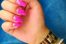 Nails / Nails Magenta Pink